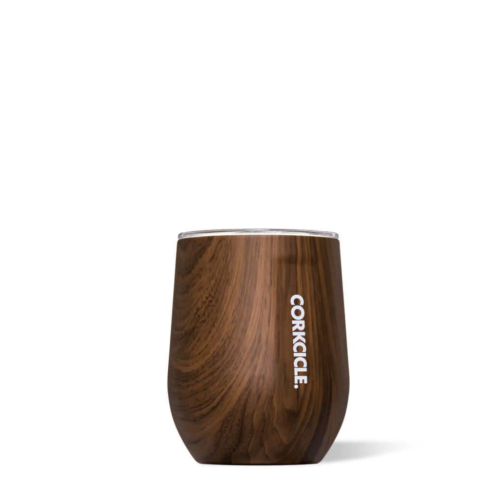 Wood Grain Stemless By Corkcicle