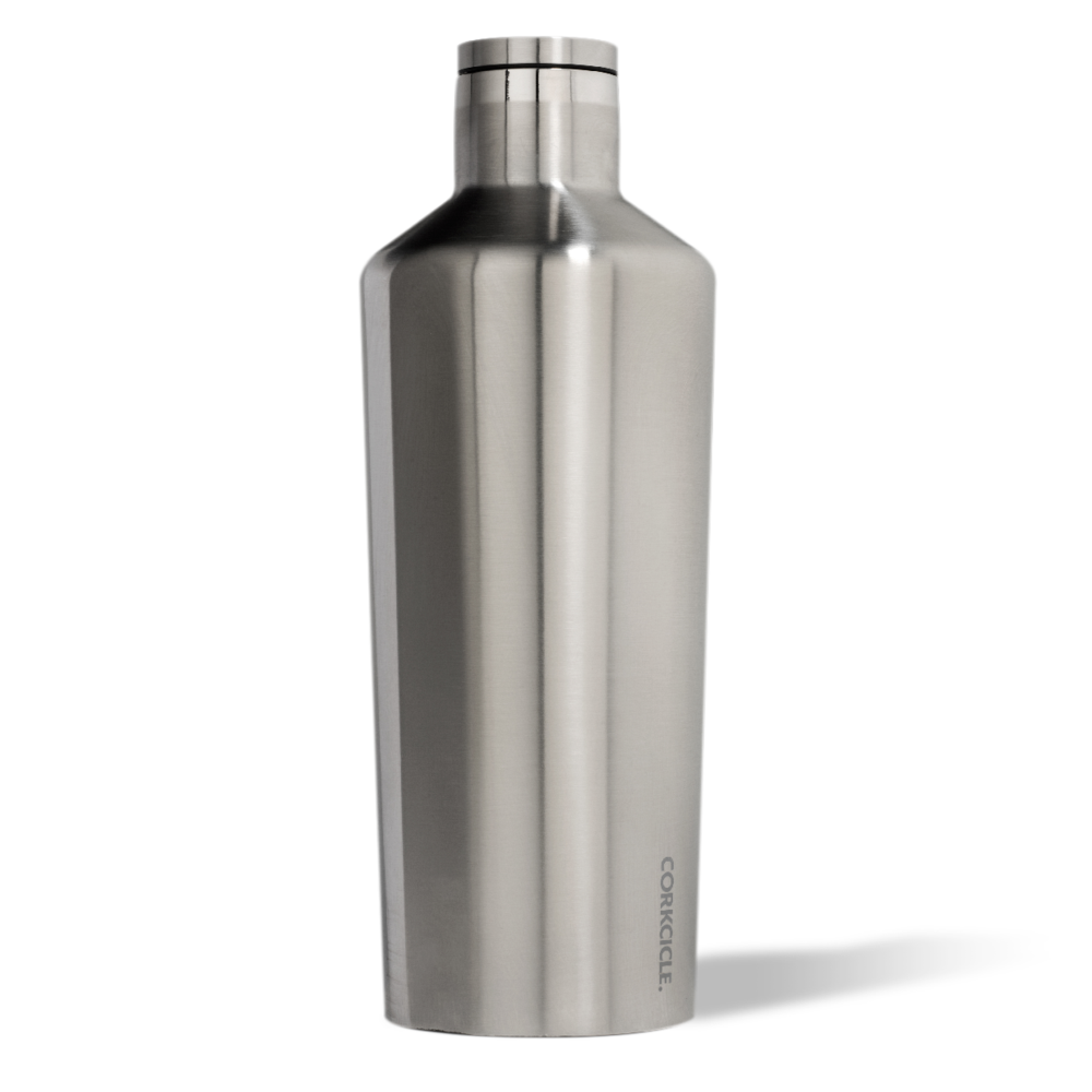 Brushed Steel Canteen 60 oz. by Corkcicle