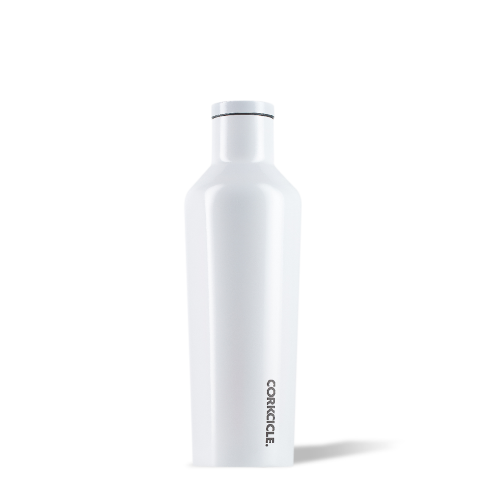 Modernest White Canteen 25 oz. by Corkcicle