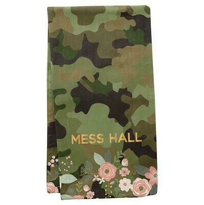 Camo Mess Hall Towel By Karma