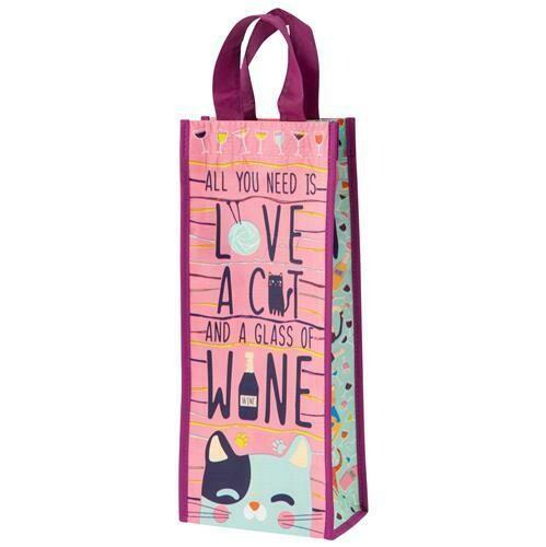 Cat Wine Bag By Karma