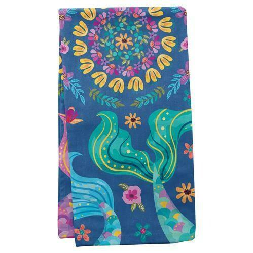 Mermaid Tea Towel By Karma