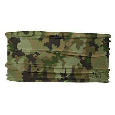 Camo Thin Headband By Karma