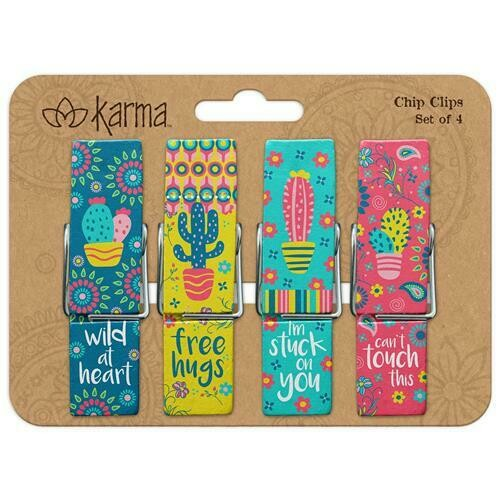 Cactus Chip Clips By Karma