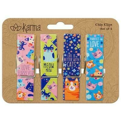 Cat Chip Clips By Karma