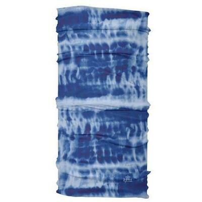 Tie Dye Blue Wide Headband By Karma