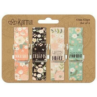 Flower Chip Clips By Karma