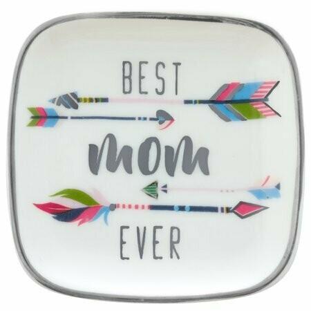Best Mom Ever Trinket Tray By Karma