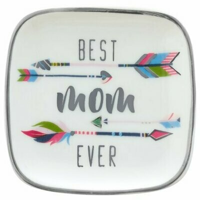 Best Mom Ever Trinket Tray By Karma