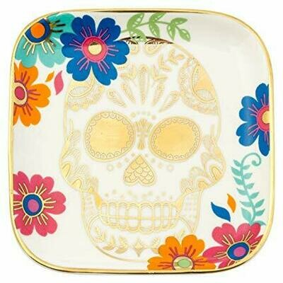 Skull Trinket Tray By Karma