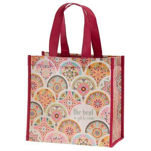 Best Is Yet To Come Tote Bag By Karma