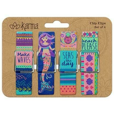 Mermaid Chip Clips By Karma