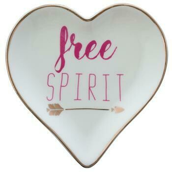 Free Sprit Heart Dish By Karma