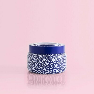 Guava Bossom Printed Travel Tin Candle By Capri Blue