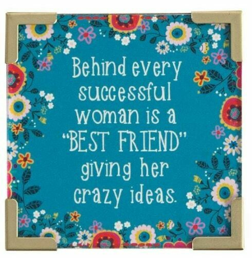 Behind Every Successful Woman Corner Magnet by Natural Life