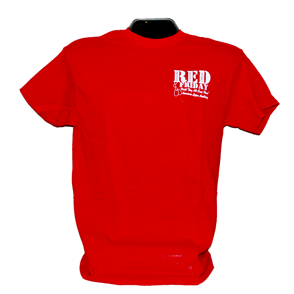Red Shirt Friday Crew Neck Tee