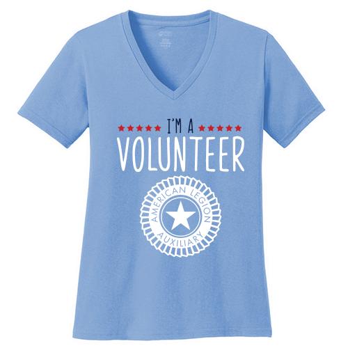 I'm A Volunteer V-neck