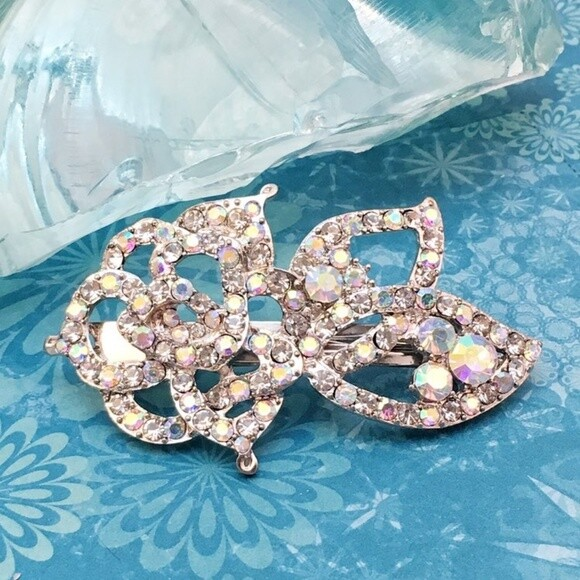 Austrian AB Crystal Hair Barrette