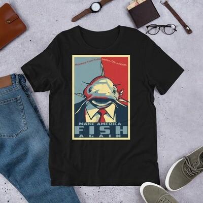 Make American Fish Again Bella Canvas T-Shirt