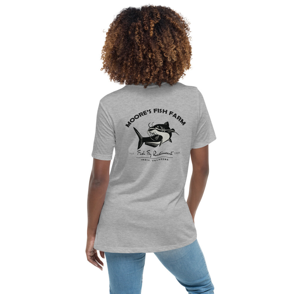 Women's Relaxed Bella Canvas Fish Fry T-Shirt