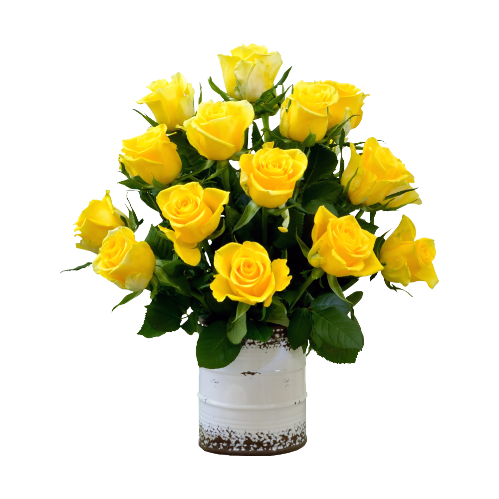 Žlté ruže