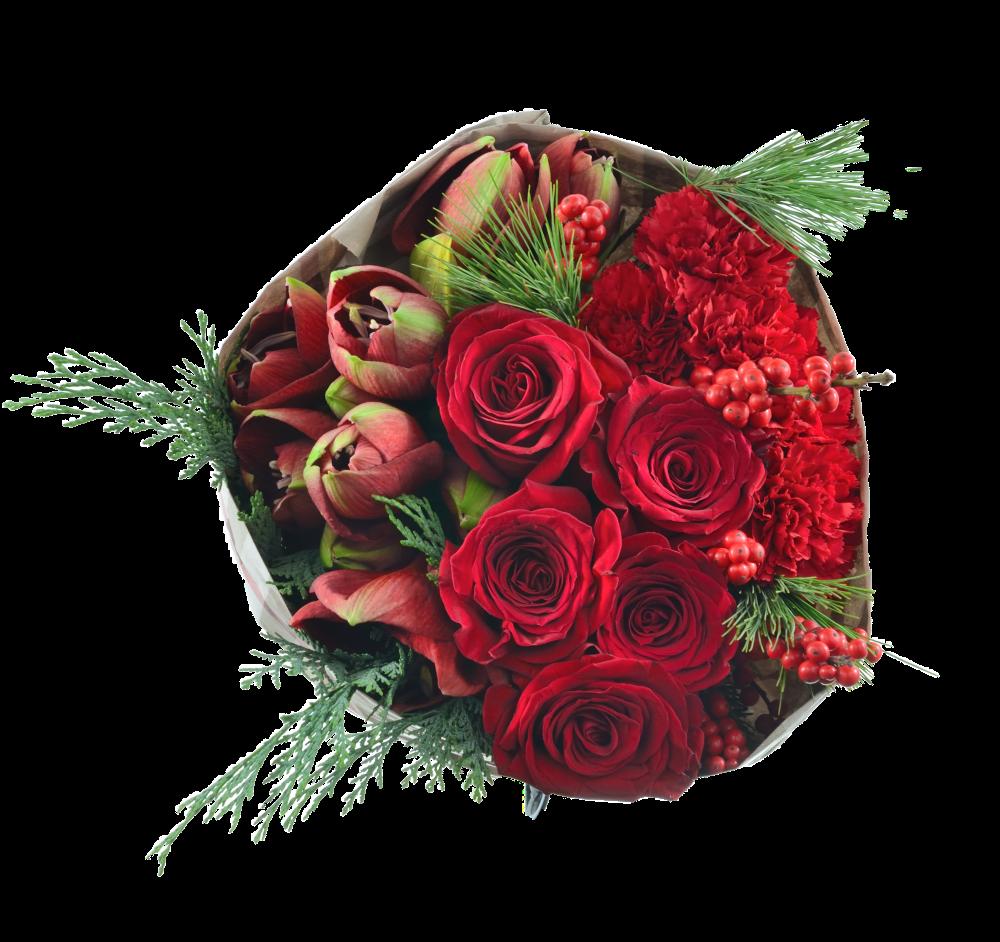 Červené kvety do chladných dní