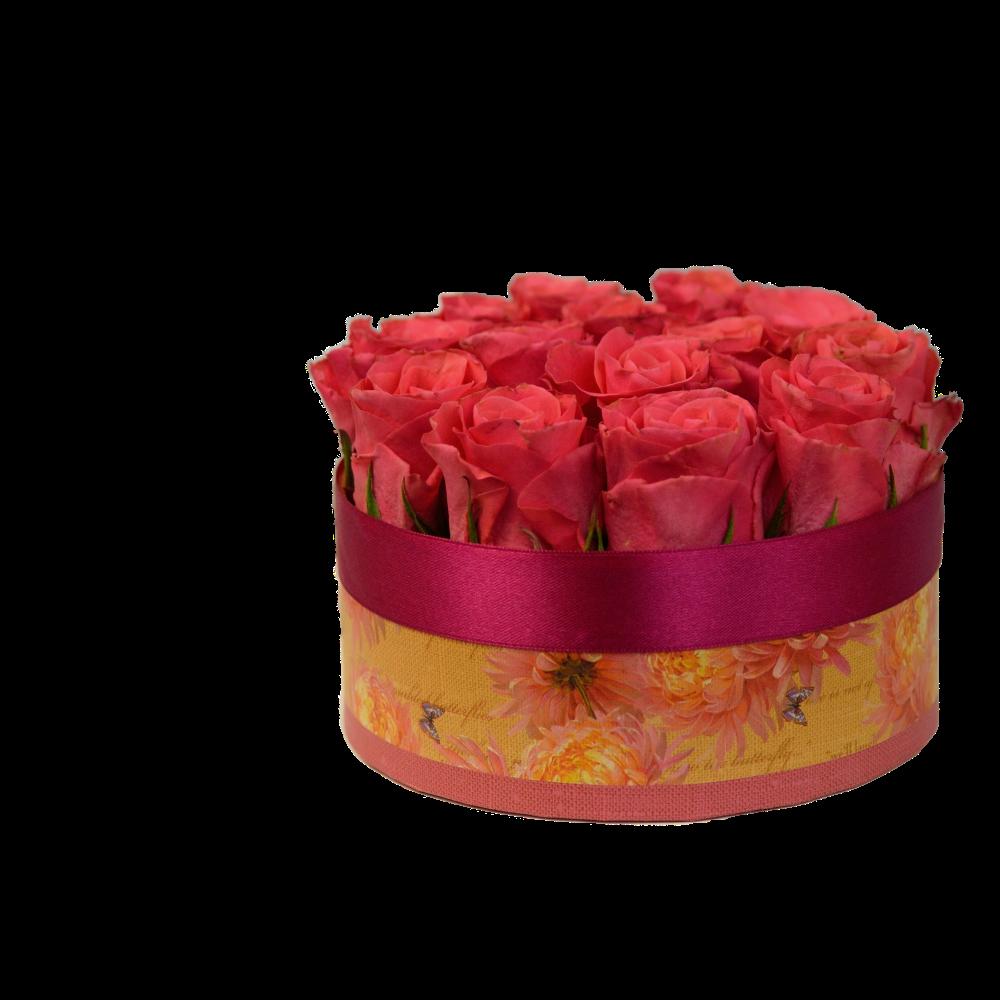 Vintage dóza s ružami