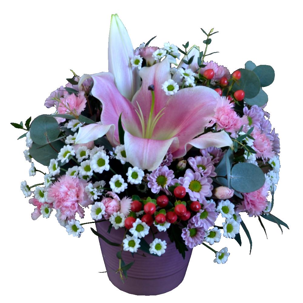 Kytica s ružovou ľaliou