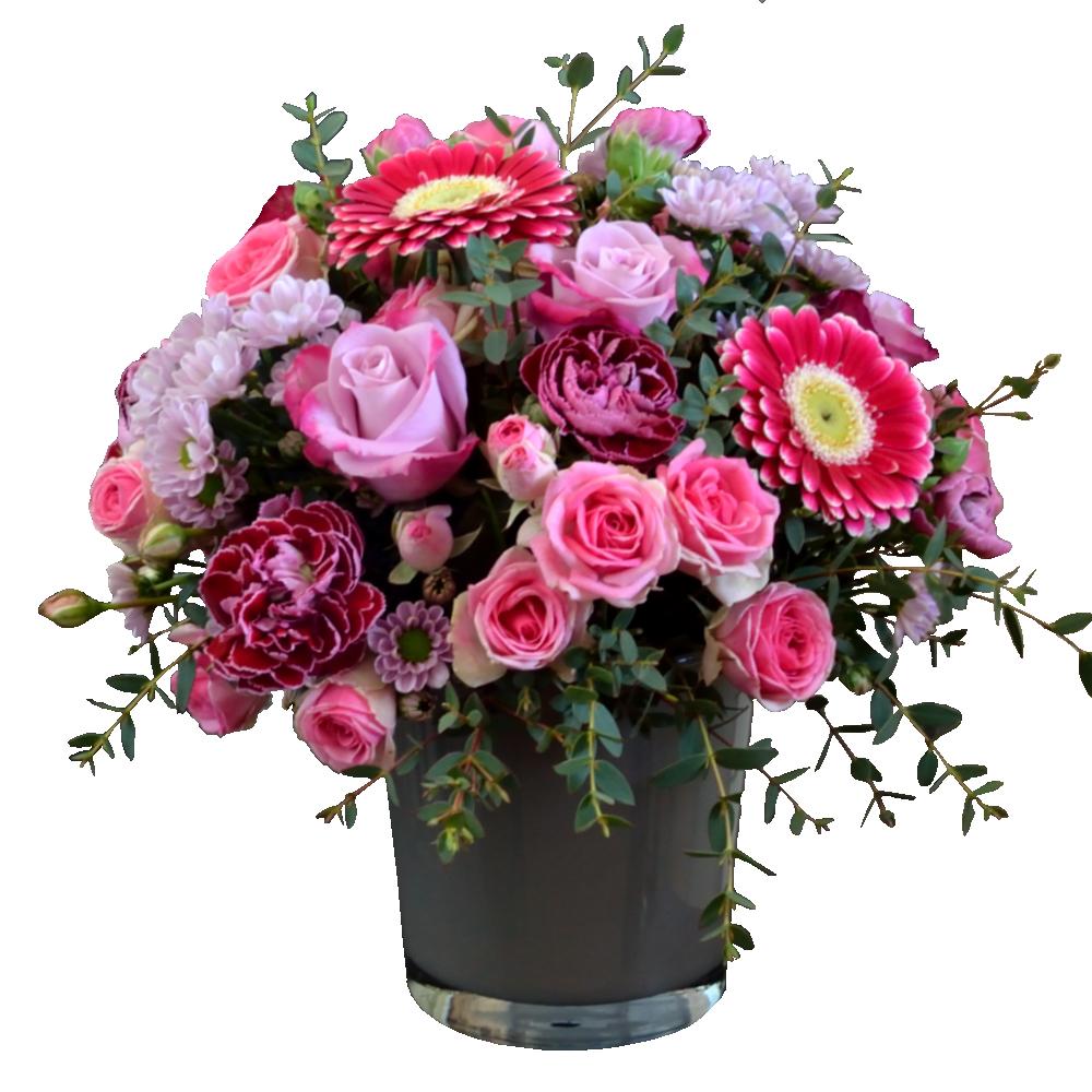 Kytica ružových odtieňov