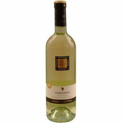 Fľaša vína Chardonnay