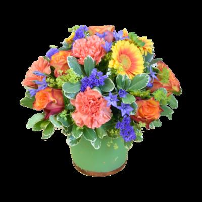 Kvetinový kokteil v kytici