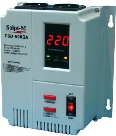Стабилизатор напряжения Solpi-M TSD-500ВА