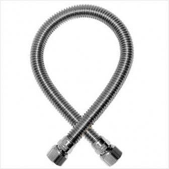 Шланг газовый сильфонный (гайка-штуцер 1/2 дюйма) 0,8 метра