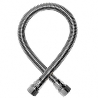 Шланг газовый сильфонный (гайка-гайка 1/2 дюйма) 1,5 метра