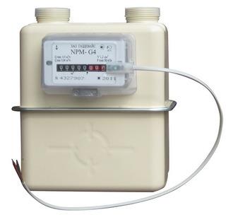 Счетчик газа ВК-G4 левый АРЗАМАС