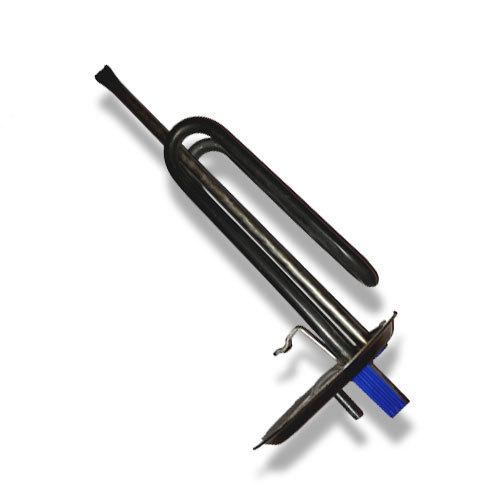 Нагрев. элемент 1200 Вт.овальный фланец  (017548)  Ariston ABS PLATINUM син. пласт