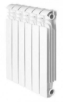 Алюминиевый радиатор Global iseo 500 6 секций