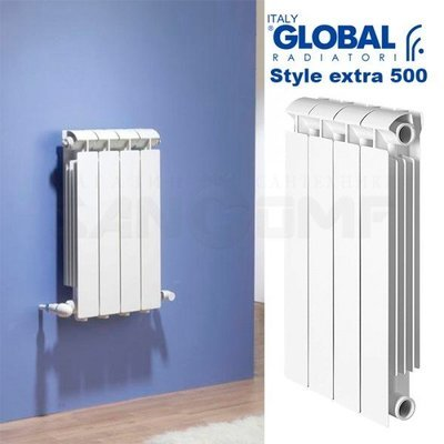 Биметаллический радиатор Global stile plus 500 6 секций