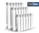 Радиатор HotStar RA-01 500/80 (11 сек.) алюм. для индив-го отопления