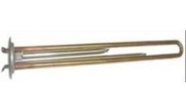 Нагрев. элемент RF 2,0 кВт вер. бол. M6 под анод,  длинный, контакты под винт М4