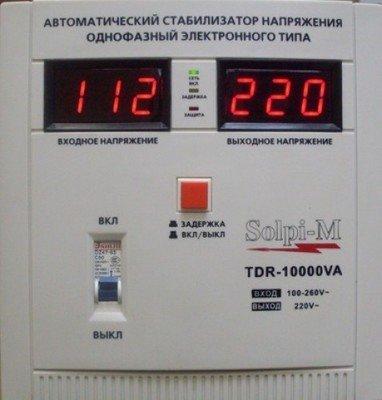 Стабилизатор напряжения SOLPI-M SLP-N 10000VA
