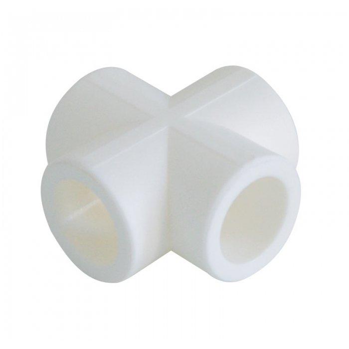 Крестовина полипропиленовая d25 ПластПолимер