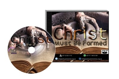 Christ Must Be Formed DVD