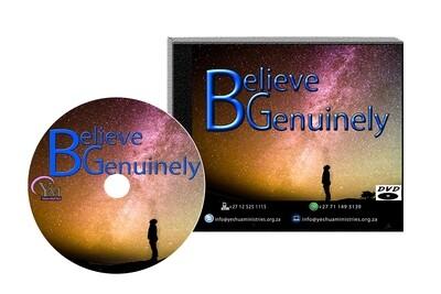 Do You Genuinely Believe DVD
