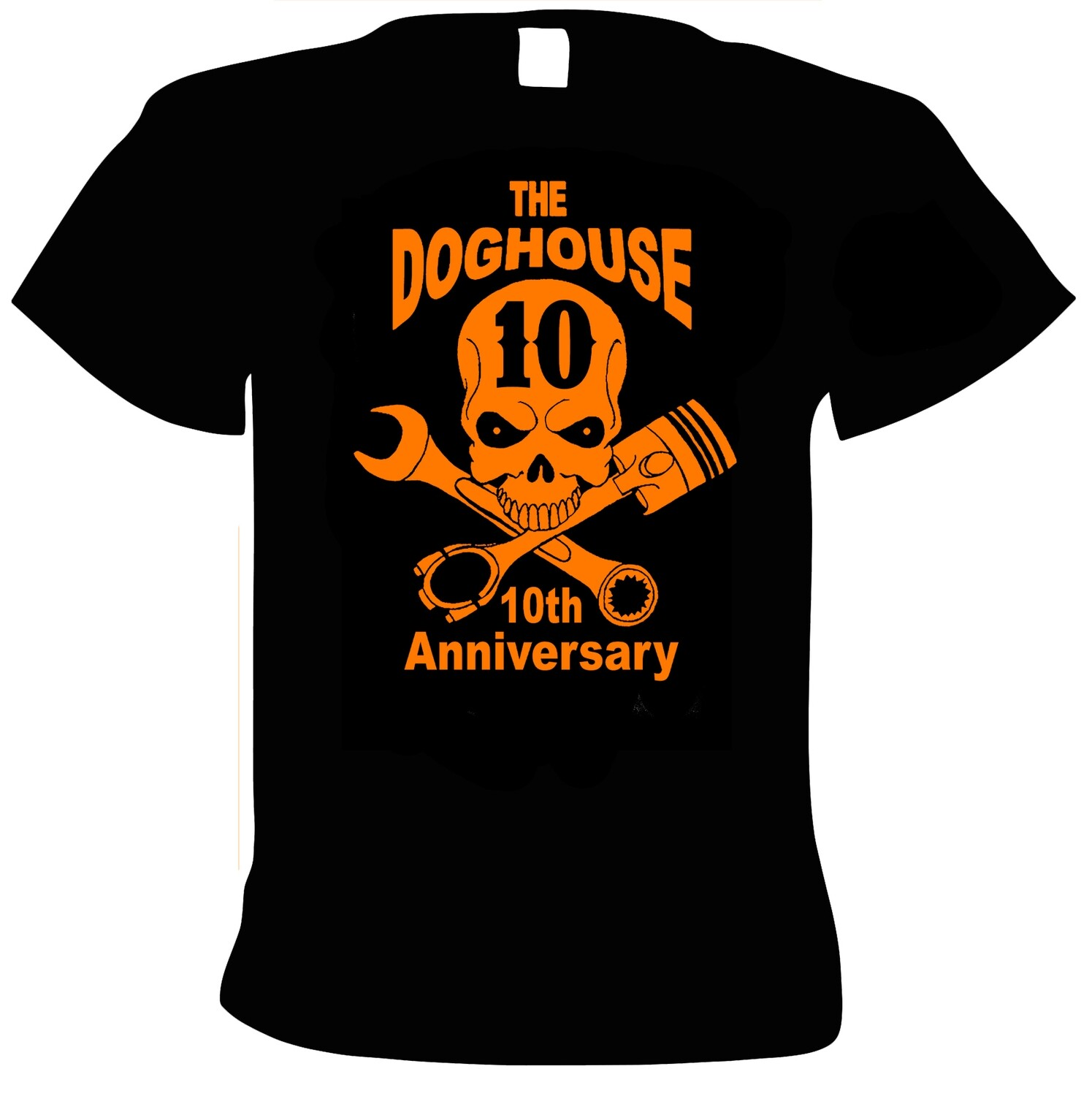 10th Anniversary gig shirt