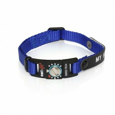 Cat-life Katzenhalsband My Home blau