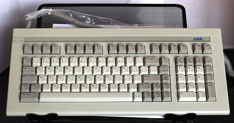 Link (Wyse) ASCII Keyboard, NOS