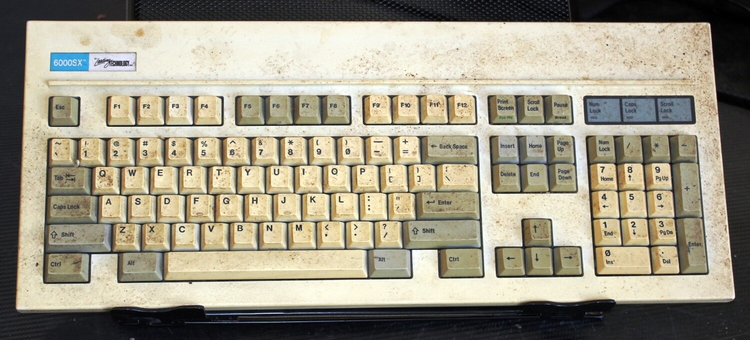 Leading Technology 6000SX Keyboard for Parts or Repair