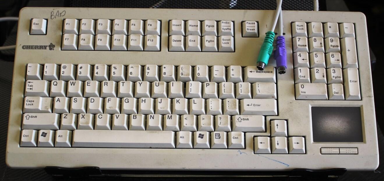 Cherry G80-11900LPMUS Keyboard for Parts or Repair