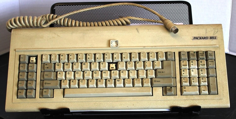 Packard Bell 112763-001 Keyboard, Tested